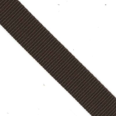 Polypropylene Webbing 50mm Wide - Brown