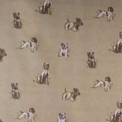Porter & Stone - Burghley Novelties - Pooch - Curtain Fabric