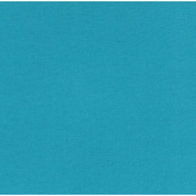 Dressmaking Linen Cotton Blend - Pool Blue