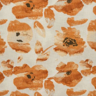 Portofino - Burnt Orange - Curtain Fabric