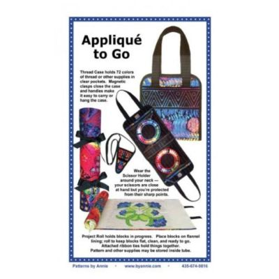 ByAnnie Sewing Pattern -    Applique to Go Case Pattern