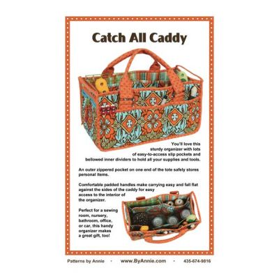 ByAnnie Sewing Pattern -  Catch All Caddy Pattern