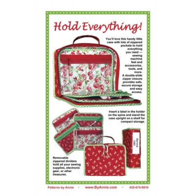 ByAnnie Sewing Pattern -   Hold Everything Pattern