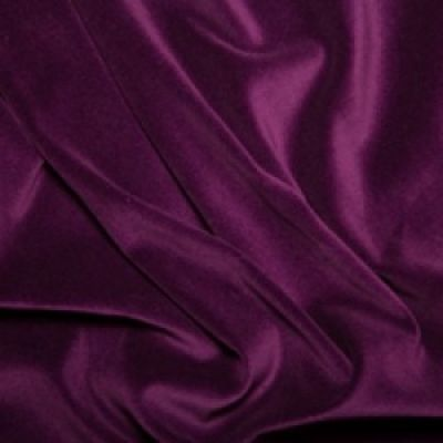 Cotton Velvet - Solid Purple