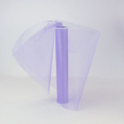 Lilac Sheer Organza 29cm Wide