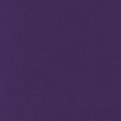 Plain Polycotton Purple