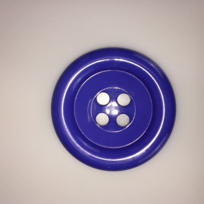 Purple Extra Large Clown Buttons Size 80L - 51mm