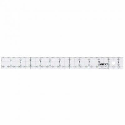 "Olfa Non Slip Frosted Ruler - 1.25"" x 12.5"""