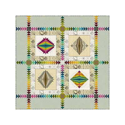 Andover Quantum Quilt - Free Download