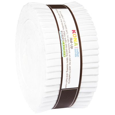 Kona Cotton White Roll Up