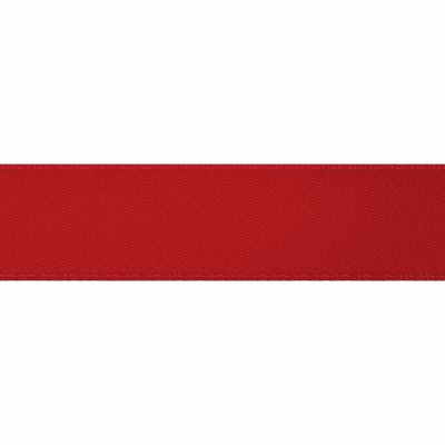 Scarlet Double Satin Ribbon 5m rolls from 3mm to 36mm wide