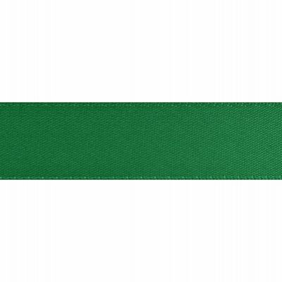 Green Double Satin Ribbon 5m rolls from 3mm to 36mm wide