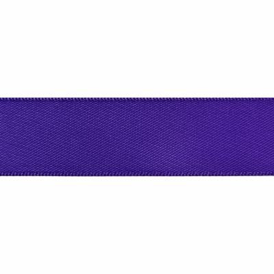Purple Double Satin Ribbon 5m rolls from 3mm to 36mm wide