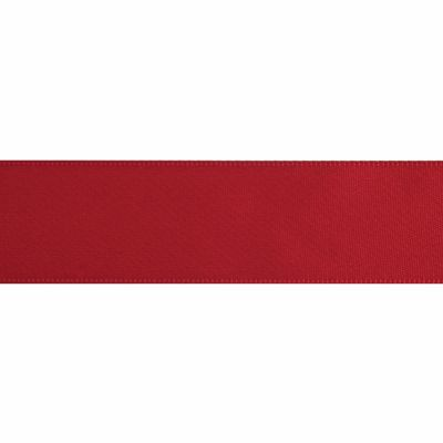 Red Double Satin Ribbon 5m rolls from 3mm to 36mm wide