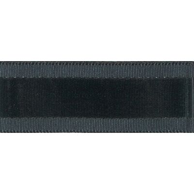 Berisfords Essentials Grace Festive Ribbon - 25mm Wide - Wardle Grey
