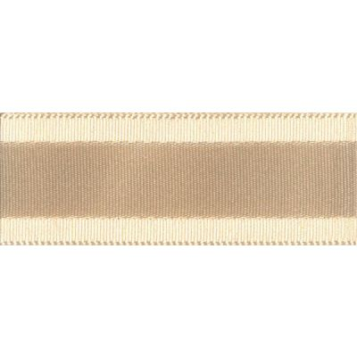 Berisfords Essentials Grace Festive Ribbon - 35mm Wide - Cream
