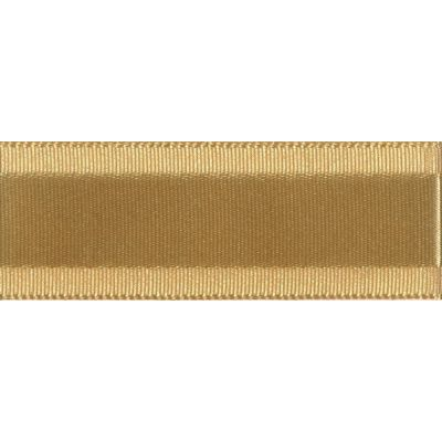 Berisfords Essentials Grace Festive Ribbon - 35mm Wide - Honey Gold