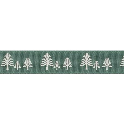 Berisfords 15mm Festive Forest Sherwood Ribbon 4m Reel