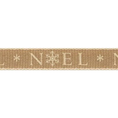 Berisfords 15mm Noel Ivory Ribbon 4m Reel