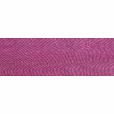 Cerise Organdie Ribbon 5m Rolls 25mm and 36mm Wide