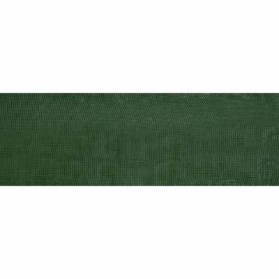 Green Organdie Ribbon 5m Rolls 25mm and 36mm Wide