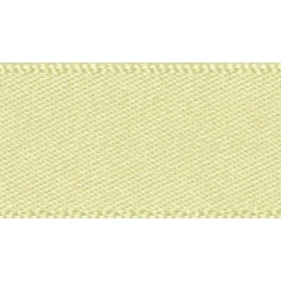Berisfords Pale Lemon Double Satin Ribbon - All Widths