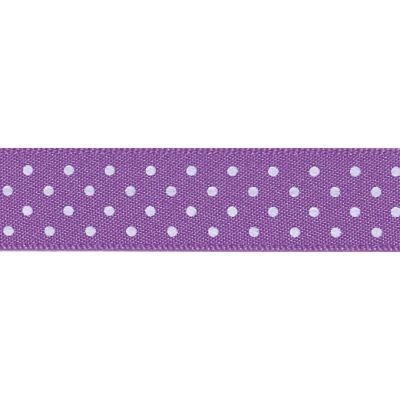 Berisfords - Micro Dot Ribbon - Purple - 3 Widths