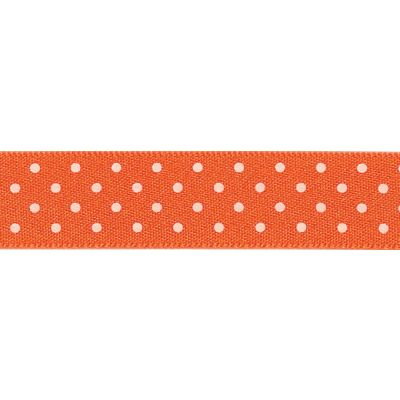 Berisfords - Micro Dot Ribbon - Orange - 3 Widths