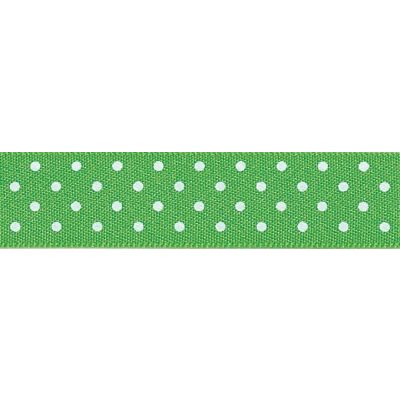 Berisfords - Micro Dot Ribbon - Meadow - 3 Widths