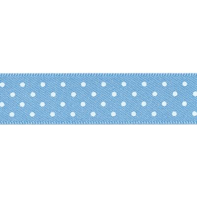 Berisfords - Micro Dot Ribbon - Cornflower - 3 Widths