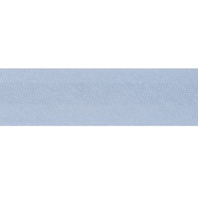 15mm Satin Bias Binding Light Blue