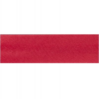 15mm Satin Bias Binding Red