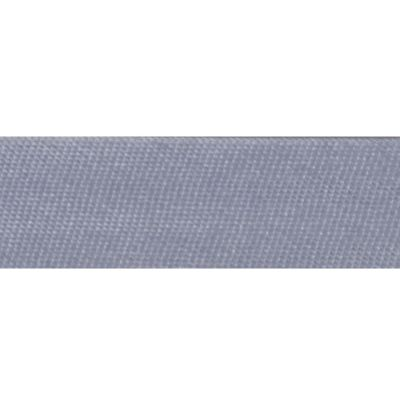 15mm Satin Bias Binding Silver