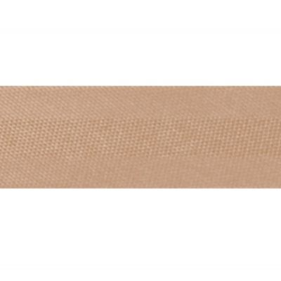 15mm Satin Bias Binding Nut Brown