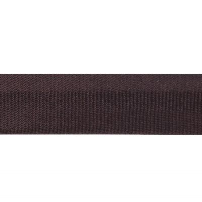 15mm Satin Bias Binding Brown