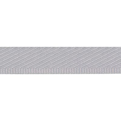 Remnant - Berisfords - Kick Tape - Silver - 13mm Wide - 2m LENGTH