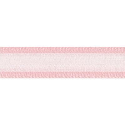 Berisfords Essentials Ribbon - Sheer Elegance - 15mm Wide - Pink Azalea