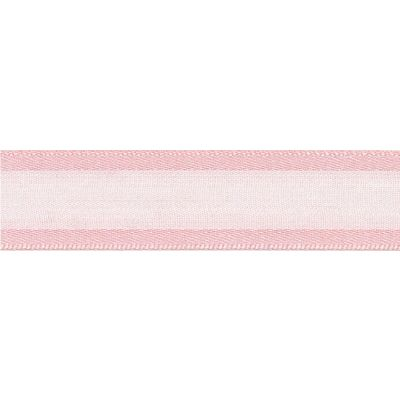 Berisfords Essentials Ribbon - Sheer Elegance - 25mm Wide - Pink Azalea