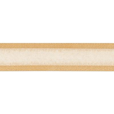 Berisfords Essentials Ribbon - Sheer Elegance - 15mm Wide - Honey Gold