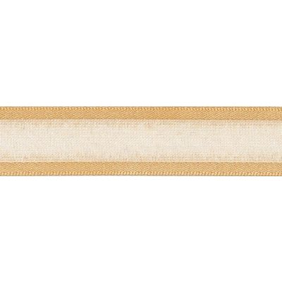 Berisfords Essentials Ribbon - Sheer Elegance - 25mm Wide - Honey Gold