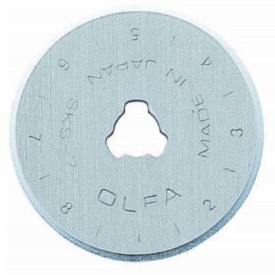 Olfa 28mm replacement blade twin pack for rotary cutter