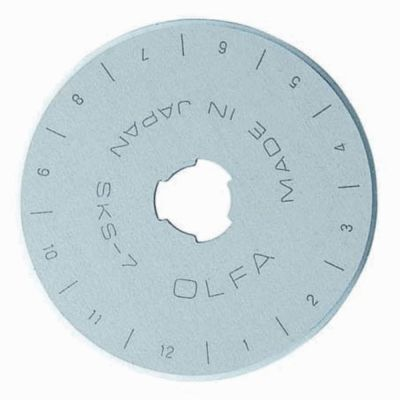Olfa 45mm replacement blade for rotary cutter