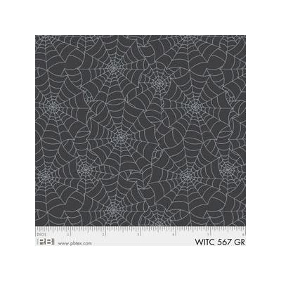 R & B Textiles - The Witchery - Webs Grey