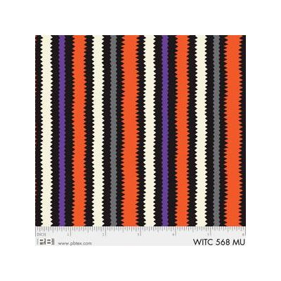 R & B Textiles - The Witchery - Stripe Puple