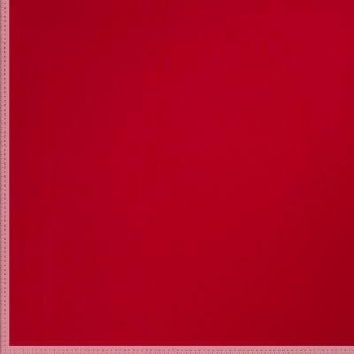 Remnant -Premium Ponte Roma Jersey - From Recycled Plastic Bottles - Red - 50 x 160cm - Flawed