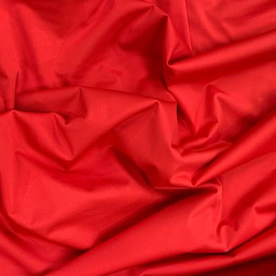 Plush Addict Red PUL Fabric (Polyurethane Laminate fabric) - Waterproof Breathable Fabric