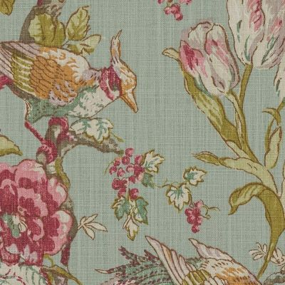 Porter & Stone - Renaissance - Duck Egg - Curtain Fabric