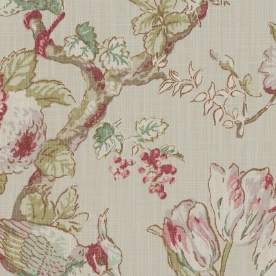 Porter & Stone - Renaissance - Rose - Curtain Fabric