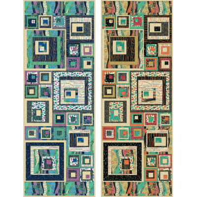Makower Rhapsody - Table Runner / Wall Hanging Pattern - Free Project - Instant Download