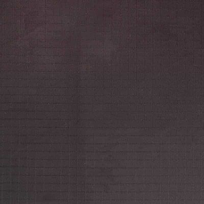 Solid black nylon ripstop fabric